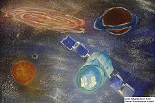Автор: Сабыр Бакдаулет   Космическая одиссея
