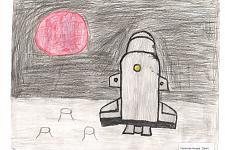 Автор: Гасанова Ашура   Космическая одиссея