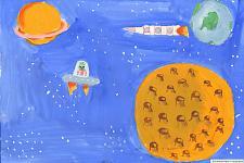 Автор: Мальцева Даша ,преподаватель Комф Н.В.   Космическая одиссея