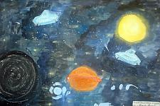Автор: Петрова Евгения   Космическая одиссея