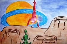 Автор: Сафарян Левон   Космическая одиссея