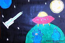 Автор: Антонова Лиза    Космическая одиссея