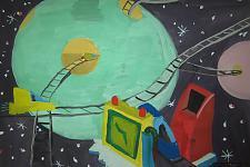 Автор: Мечетина Виктория    Космическая одиссея