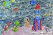 Автор: Третьякова Валерия   Космическая одиссея