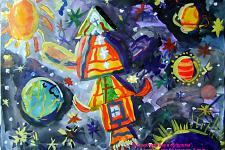 Автор: Мараева Виктория   Космическая одиссея