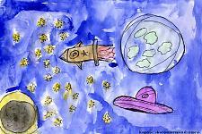 Автор: Атажанова Валерия   Космическая целина