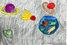 Автор: Кирьякова Милена   Космическая целина