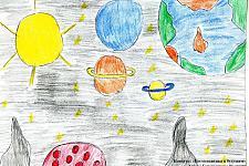 Автор: Бурмистрова Валерия   Космическая одиссея
