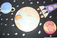 Автор: Заграпова Рената   Космическая целина
