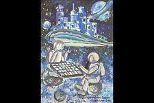 Автор: Гаспарян Гаянэ   Космическая одиссея