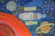 Автор: Гитиятуллина Ленара   Космическая одиссея