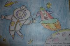 Автор: ЖАПОВ БАТОР   Космическая одиссея