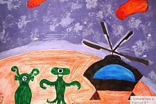Автор: Чернышева Диана   Космическая одиссея