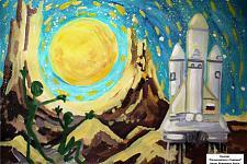 Автор: Мещерягин Артём   Космическая целина