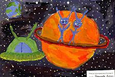 Автор: Бутунова Алена   Космическая одиссея