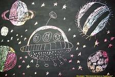 Автор: Малыхина Александра   Космическая одиссея