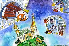 Автор: Всемирнов Зузанна   Космическая одиссея
