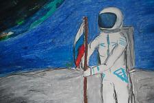 Автор: Шарова Анастасия   Космическая одиссея