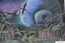Автор: Зарипова Яна   Космическая одиссея