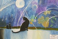 Автор: Рябых Алина   Космическая одиссея
