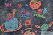 Автор: Агуреева Мария   Космическая одиссея