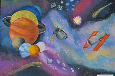 Автор: Белова Кристина   Космическая одиссея