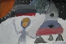 Автор: Тимурзиев Адам   Космическая одиссея