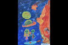 Автор: Короткова Настя   Космическая одиссея