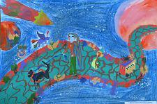 Автор: Калинина Лиза   Космическая целина