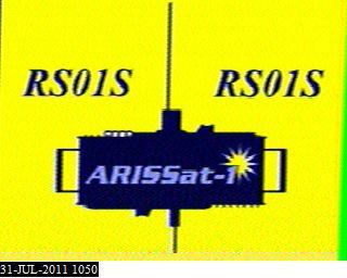 SSTV images from ARISSat-1