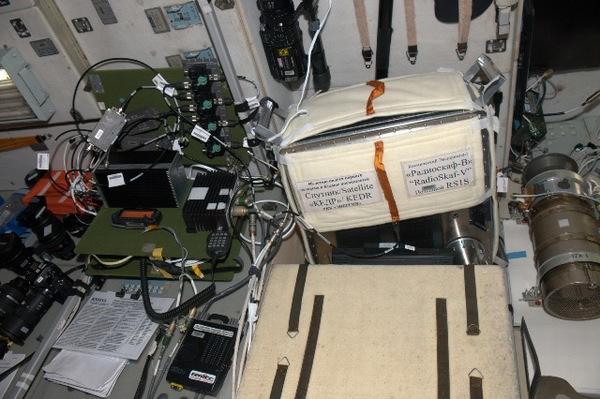 Спутник кедр и бортовая система радиолюбительской связи Спутник на МКС