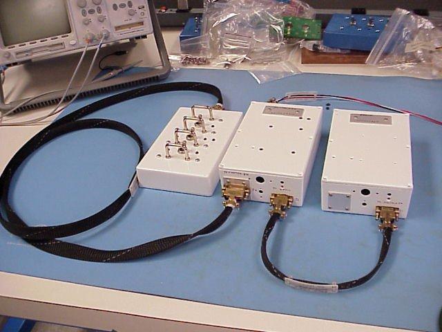 Блок управления интерфейсом SuitSat, блок передатчика и блок Digitalker / микроконтроллера
