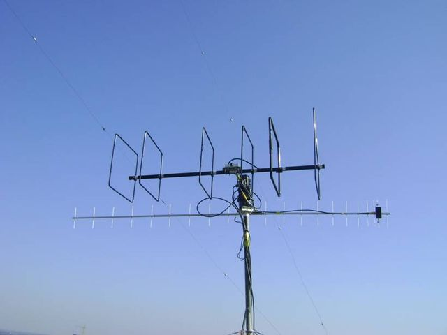 Антенно-фидерные устройства  Центра космической связи ЮЗГУ