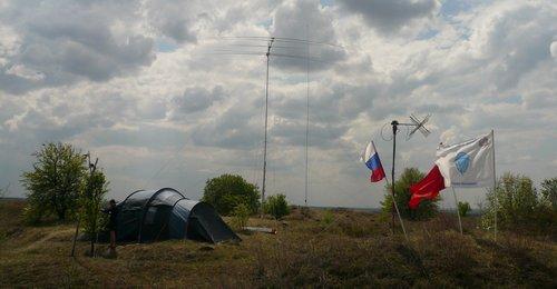 Тепловские высоты 2009. Радиоклуб СПОРАДИК
