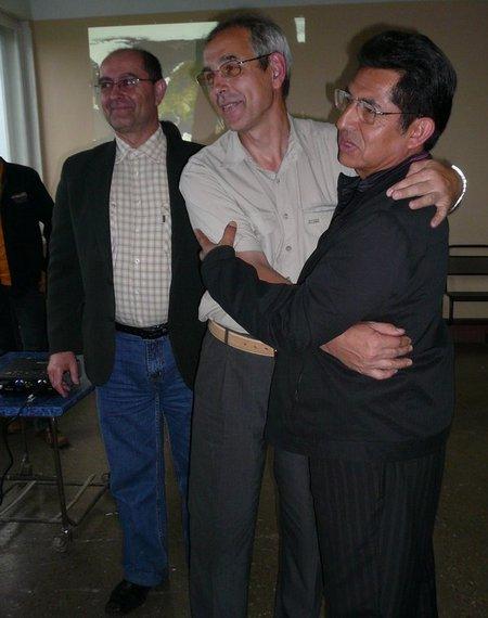Ректор Перуанского университета связывается с МКС. Радиоклуб СПОРАДИК