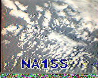 SSTV кадр