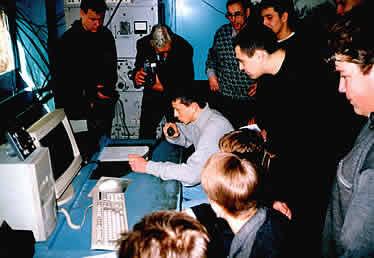 Радиосвязь с 4-ым экипажем МКС. Первая радиосвязь с МКС клуба СПОРАДИК