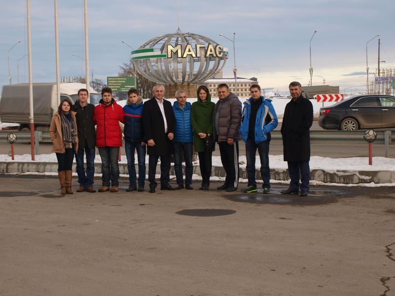Радиосвязь политехнического колледжа Республики Ингушетия с МКС 5 декабря 2015г.