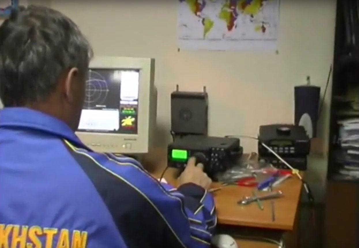 Радиосвязь коллективной любительской радиостанции ИрГТУ и 24ого экипажа Международной Космической Станции