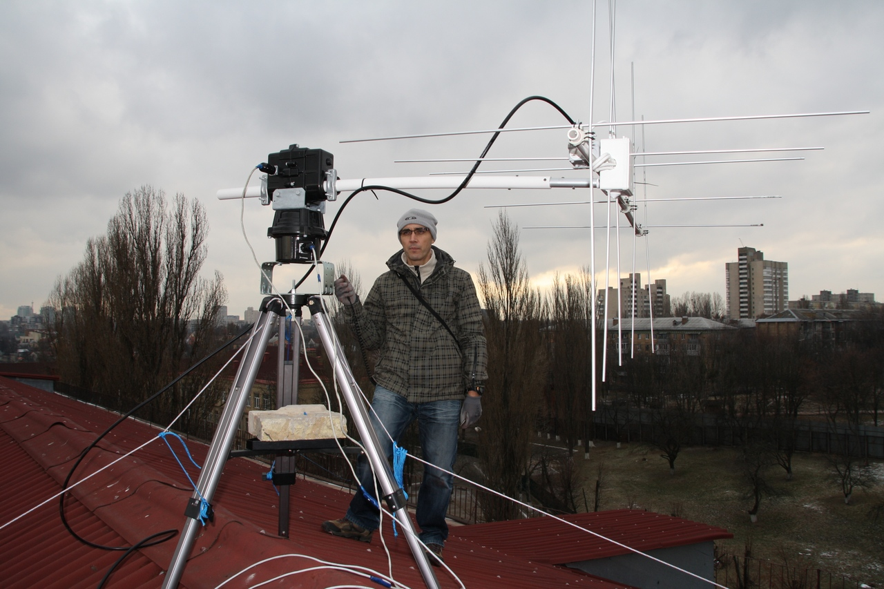 Радиосвязь c МКС киевского авиа-космического лицея Национального Авиационного Университета