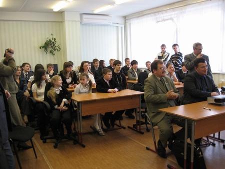 Радиовстреча гимназии №25 г. Курска с экипажем МКС