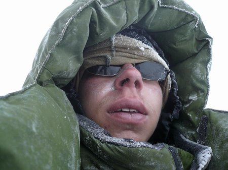 Александр Долженков (ra3wok) у восточной вершины