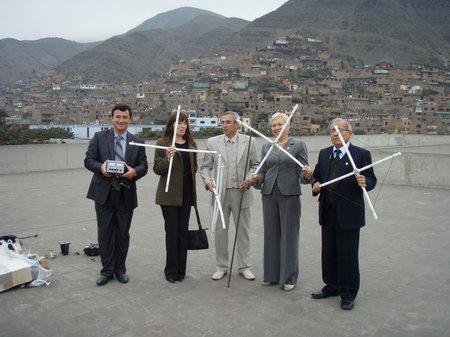 Радиосвязь с 19/20 экипажем МКС из Перу