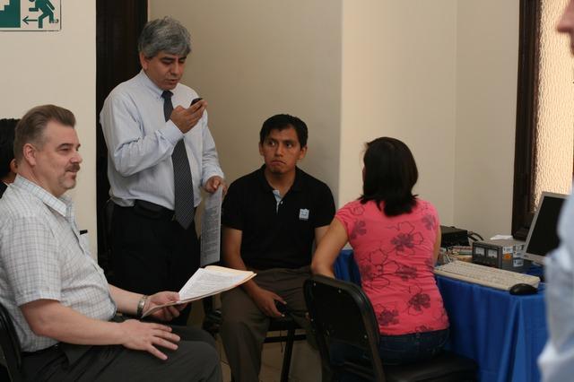 Радиосвязь с 27-ым экипажем МКС из Перу