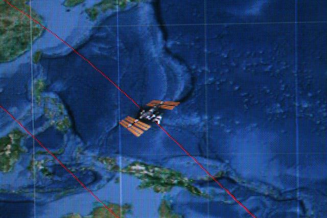 Показательная радиосвязь Уфимского государственного авиационного технического университета с МКС