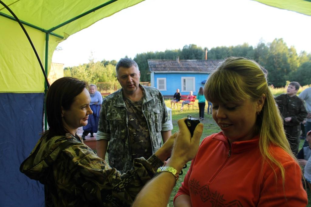 Радиосвязь Вологодского туристического слёта  с 52-м экипажем МКС