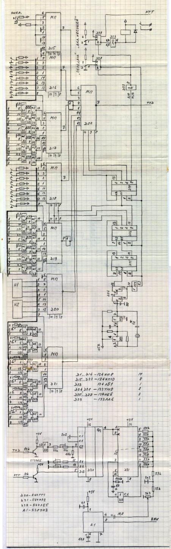Схема Блока Формирования Команд RM-1